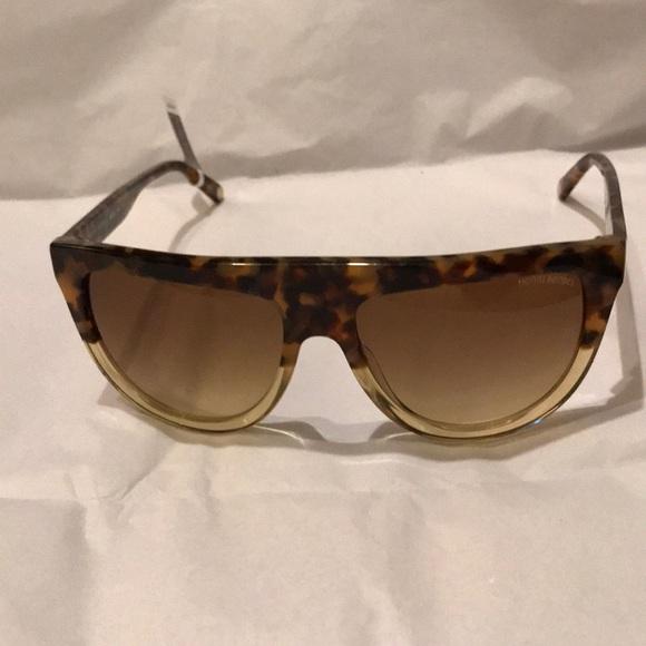 115b8ae8a henri bendel Accessories | Tortoise Bella Flat Top Sunglasses | Poshmark